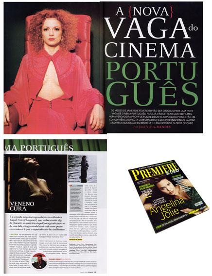 premiere magazine. january 2009