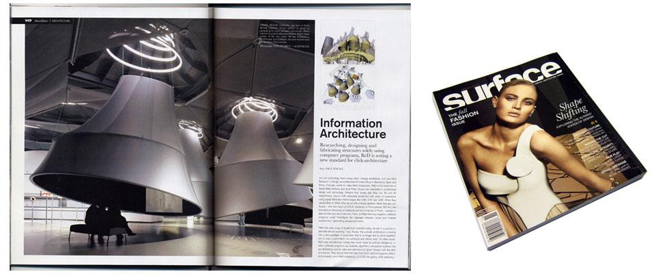 surface magazine. fall 2006